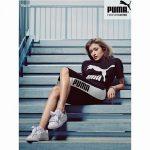 ローラの2017年PUMA!靴紐が可愛い「プーマバスケットハートパテントスニーカー」再入荷しています!