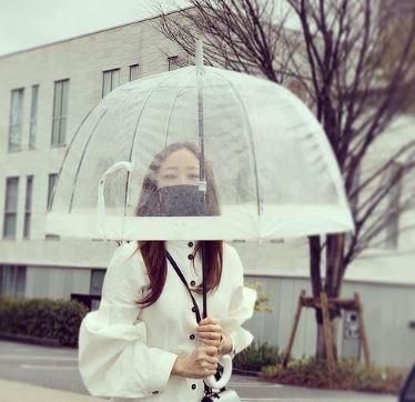 神崎恵ビニール傘